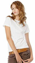 Organic-T Girlie-Shirt von B&C