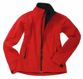 Modische Softshell-Jacke aus dem Hause James & Nicholson