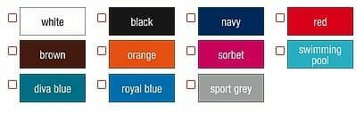 Ansicht lieferbarer farben B&C Exact 190 damen-T-Shirt
