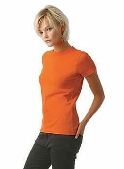 Girlie-Shirt B&C 190 für TShirt Druck
