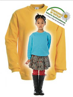 Sweatshirt für Kinder B&C Set In Kids
