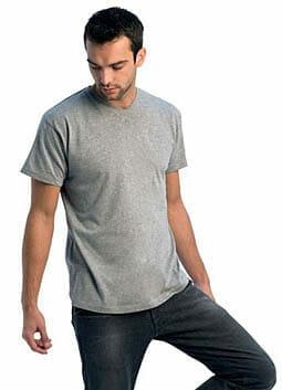 V-Kragen Shirt B&C v-neck