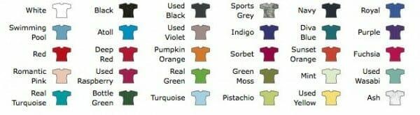 Girlieshirt B&C Women Only in vielen Farben erhältlich