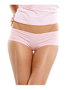 Cotton Spandex Shortie Panties Bella 491