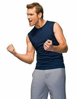 Sleeveless T Shirt Hanes® 5520
