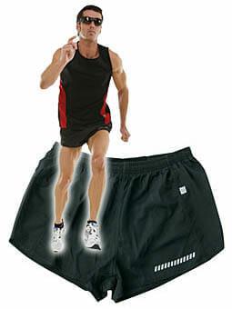 JN 301 Lauf-Short für Männer