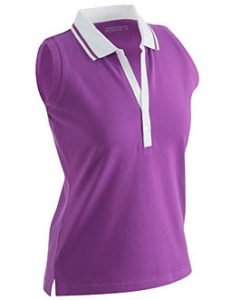 Sleeveless Ladies Polo JN 159