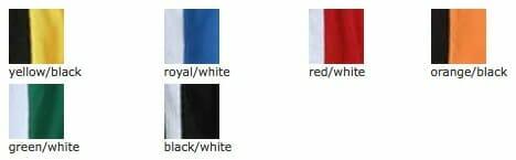 Sechs Farbkombination sind vom JN337 lieferbar