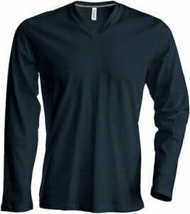 Kariban K358 Langarm-Shirt V-Neck