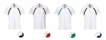 Ansicht lieferbarer Farben Slazenger Jebel Cool Fit Polo