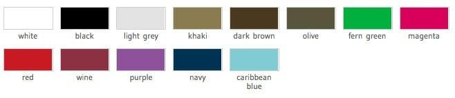 MB 6184 - Ansichtsbild lieferbarer Farben
