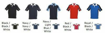 Ansicht lieferbarer Farben Rugbyshirt KK613