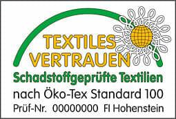 Textiles Vertrauen durch Öko-Tex Kontrolle