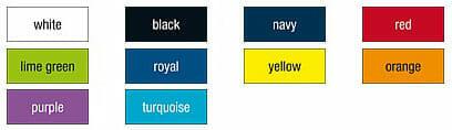 Farbauswahl JN 601 Kurzarmhemd