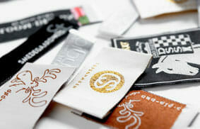 Webeetiketten, Branding, Textiletiketten
