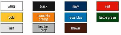 B&C-Safran-longsleevem - lieferbare Farben