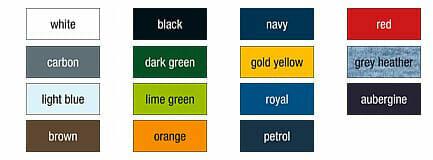 JN 40 - lieferbare farben