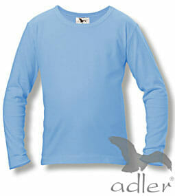 Adler, Kinder-Langarm-T-Shirt