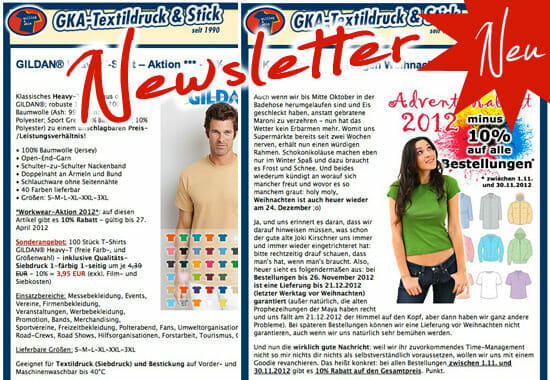 GKA Newsletter