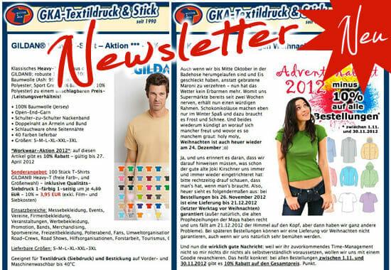 GKA Newsletter