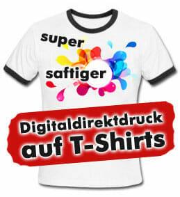 Digitaldirektdruck auf T-Shirts mit Kornit