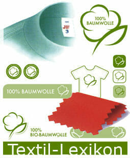 Textillexikon: Abbildung Materialien