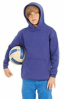 Kinder-Kapuzensweater aus dem Hause B&C