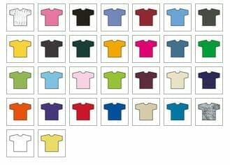 Gildan kids heavy t ansicht lieferbarer farben