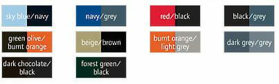 Kariban® K681 lieferbare Farben