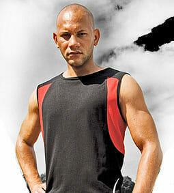 Spiro-Sport-Athletic-Vest, Ansichtsbild Laufshirt