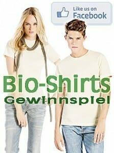 GKA feiert 2 Jahre Facebook: 10 Bio-Shirts zu gewinnen