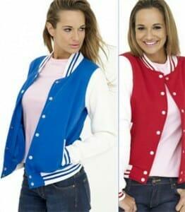 Damen Baseballjacke | Varsity Jacket UC526