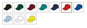 Result Kids-Baseball-Cap Farbauswahl