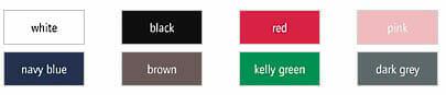 Bioshirt EarthPositive-EP02 - Ansicht lieferbarer Farben