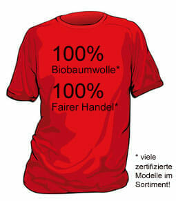 Fair gehandelte T-Shirts – wir erweitern unser Sortiment