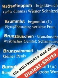 Wiener Dialekt-T-Shirts