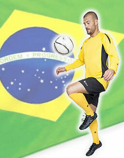 SOL'S Maracana - Fußballdress langarm