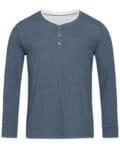 gehe zu: Stedman® Herren Henley T-Shirt langarm Luke