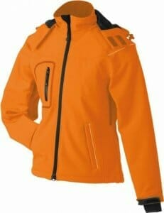 James & Nicholson JN 1001 Damen Winter Softshell Jacke