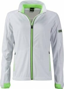 James & Nicholson Ladies' Sports Softshell Jacket