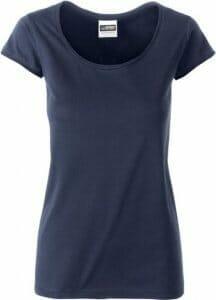 Bio-T-Shirt * James & Nicholson Ladie's-T 8001