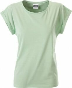 Bio-T-Shirt * James & Nicholson Ladies' Casual-T 8005