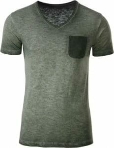 Herren Vintage T-Shirt by James & Nicholson