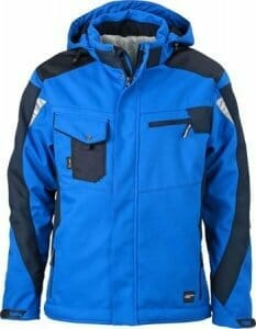 JN 824 Winter Softshell Jacke by James & Nicholson