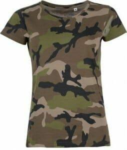 SOL'S T-Shirt Camo Women