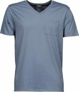 Tee Jays 5002 Herren V-Neck T-Shirt mit Brusttasche