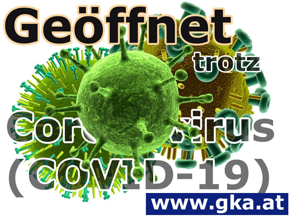 GKA trotzt Coronavirus