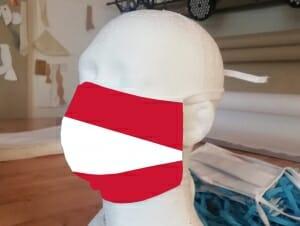 Wir bedrucken Mund-Nasen-Schutzmasken (MNS)